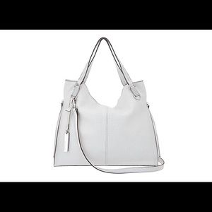 Vince Camuto leather tote handbag -Riley